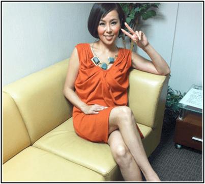 パーツモデルの金子エミが有吉反省会に!脚や手、顔が綺麗!画像