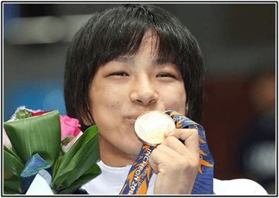 渡利璃穏(リオ) 体重63から75キロになりカップも増加!メダル獲得?