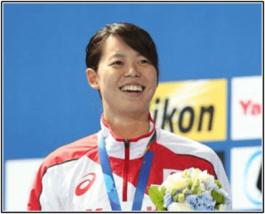 水泳 星奈津美がかわいい!カップ成長でポロシャツがw金メダルへ